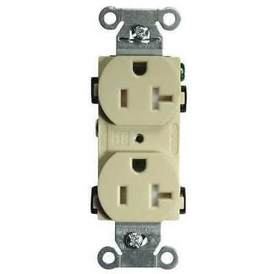 HUBBELL WIRING DEVICE-KELLEMS BR20ITR 20A Duplex Receptacle 125VAC 5-20R IV