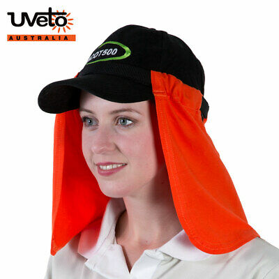 UVeto Attach-A-Flap Hard Hat Sun Protection Neckflap UPF50+ 100% Cotton