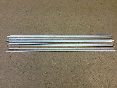 General Purpose Flux Coated Brazing Rods 2.4mm x 300mm x 15