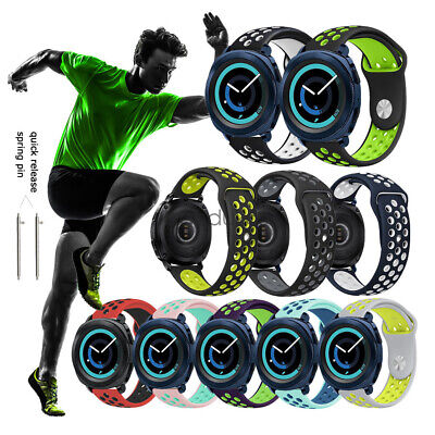 Quick Fit Soft 20mm Silicone Sport Wrist Watch Strap Band For Samsung Gear Sport