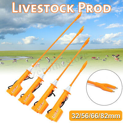 Rechargeable Livestock Cattle Cow Pig Prod Electric Shock Stock Prodder