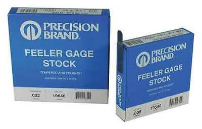 PRECISION BRAND 19600 Feeler Gauge,High Carbon Steel,0.0200 In
