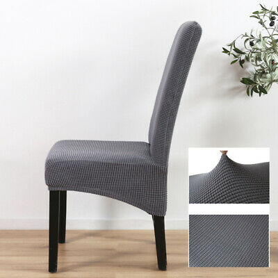 Dining Chair Covers Washable Knit