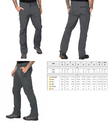 cheap prices fantastic savings how to buy JACK WOLFSKIN ACTIVATE XT Men's Trousers,Dark Iron,56 - EUR ...