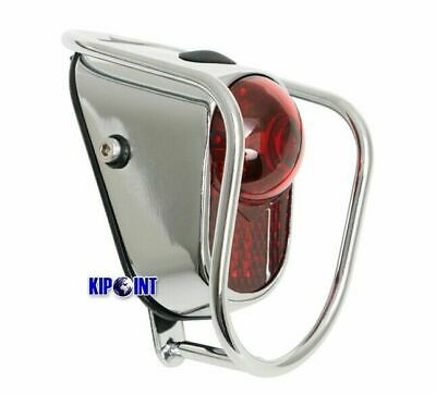 Chrome Old School Vintage Classic Tour W//Battery Bicycle Rear LED Tail Lights