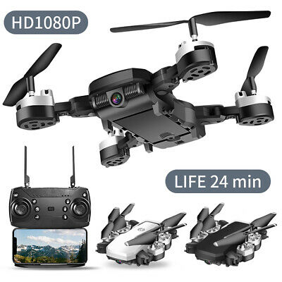 Drone Quadricottero Fpv Camera Real Time Wifi 1080P Portatile Ricaricabile Nuovo