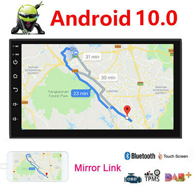 """Android 9.1 7"""" inch Double 2 DIN Car MP5 Player Touch Screen Stereo Radio GPS"""