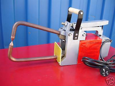 240-Volt Portable Electric Spot Weld / Welder (With 2 Spare Replacement Tips)