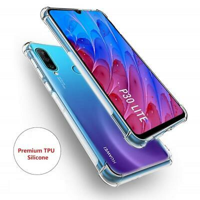 Case For Huawei P30 Lite Shockproof Slim Clear Gel Soft Silicone Bumper Cover