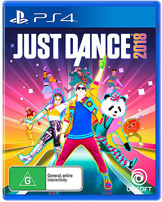 Just Dance 2018 for Sony Playstation 4 PS4 - Brand New - Sealed - Free Post