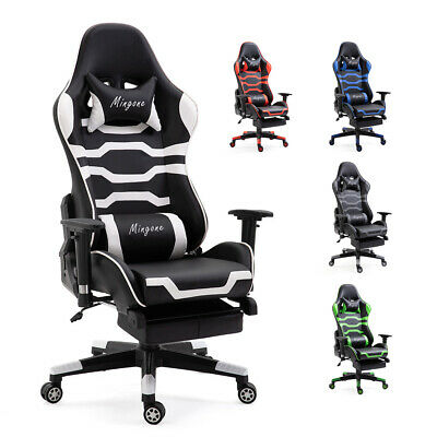 Gaming Zocker PC Stuhl Sessel  chair Gamingstuhl Zockersessel Gamerstuhl 150 kg