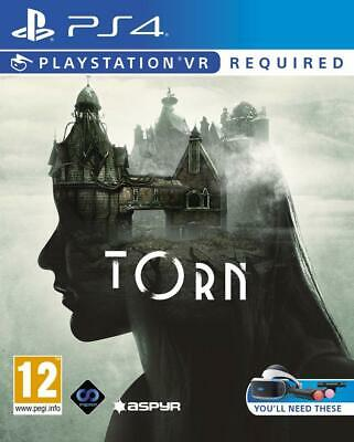 Torn (PS4 PSVR)  BRAND NEW AND SEALED - IN STOCK - QUICK DISPATCH - FREE UK POST