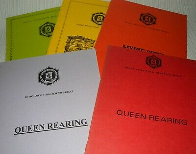 Devon Apicultural Research Group - Bee Keeping - 5 Booklets, Queen Rearing Etc