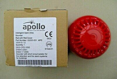 £24 Apollo 55000-001 APO XP95 Red Open Area Sounder