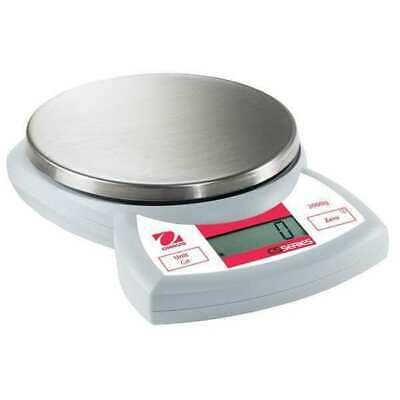 OHAUS CS2000P Digital Compact Bench Scale 4.4 lb./2kg Capacity
