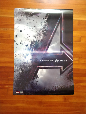 Avengers: Endgame movie poster, 27x40, full-sized, double sided