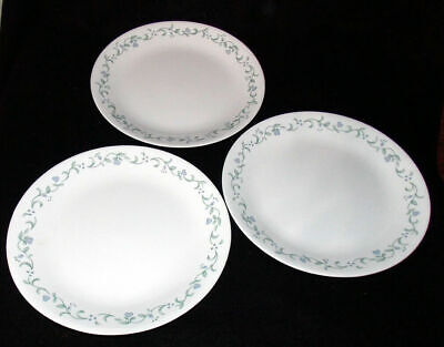 """Corelle Country Cottage 10 1/4"""" Dinner Plates Lot Of 3 EUC Free Ship"""