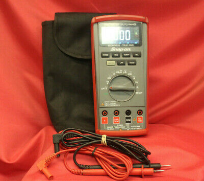 Snap-On EEDM525E True RMS Multimeter Color LCD