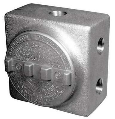 APPLETON ELECTRIC GRSS75 Conduit Outlet Body,7 Hub,3/4 In.