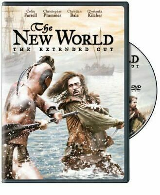 The New World (DVD, 2008, Extended Cut) Colin Farrell WORLD SHIP AVAIL