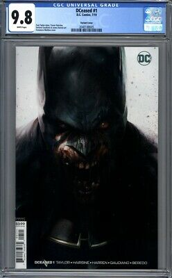 DCeased #1  Francesco Mattina Variant Batman  DC Comics 1st Print  CGC 9.8