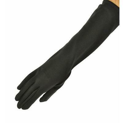 Elbow Length Dress Gloves for Women-Red, White or Black