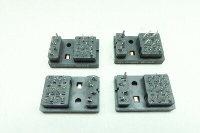4x 27E129 Relay Socket