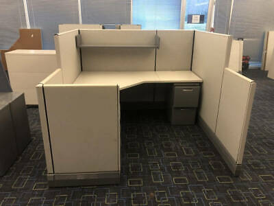Used Office Cubicles, Herman Miller AO3 6x6 Cubicles