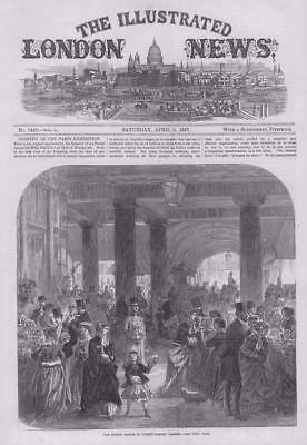 COVENT GARDEN MARKET George Gunary Two shillings London