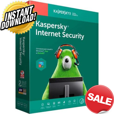 Kaspersky Antivirus security 2019 2 PC Device 1 year Global Key