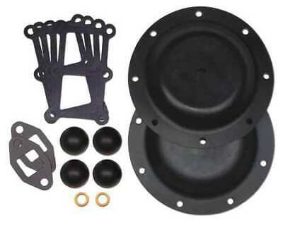 SANDPIPER 476.182.360 Repair Kit,Buna,Fluid,For 1-1/2 In Pump