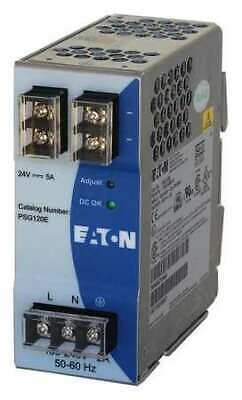 EATON PSG120E DC Power Supply,24VDC,5A,50/60 Hz