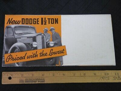 1957 DODGE TRUCK T Models 700 800 900 Power Giants Tandems
