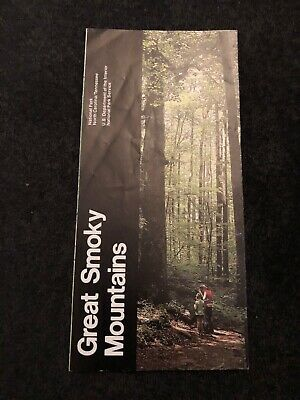 Great Smoky Mountains National Park N.C. TN Travel Brochure 1987