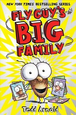 Fly Guy's Big Family, Hardcover by Arnold, Tedd, Brand New, Free shipping in ...