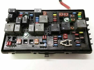 11-14 Cruze Fuse Box Engine Without Extended Range Keyless Remote 95216200 OEM