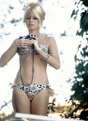"Brigitte Bardot A8  8"" X 10"" Glossy Photo Reprint"