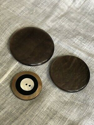 Vintage MOP Mother Of Pearl Shell Beautiful Buttons  29-36
