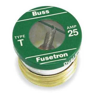 EATON BUSSMANN T-1 1A Time Delay Ceramic Branch Circuit Fuse 125VAC 4PK