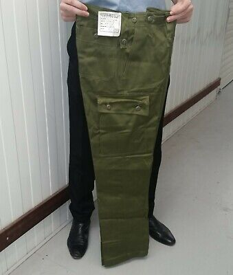 JUNGLE PANTS MINT GENUINE AUSTRALIAN ARMY ISSUE - 1980s DATED