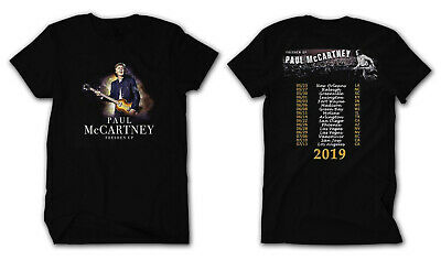 Paul McCartney Shirt 2019 Freshen Up Concert Tour T-Shirt size S to 4XL