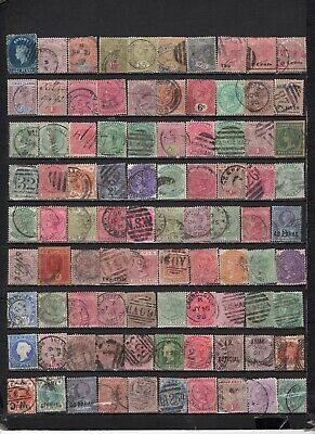 British Colonies - GB  collections  Lot Of Early Used Stamps (GBL1)