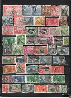 British Colonies - GB  collections  Lot Of Early Used Stamps (GBL2)