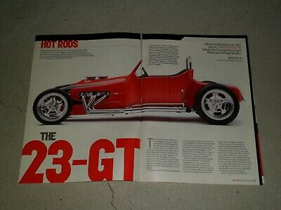 1923 GT article / ad