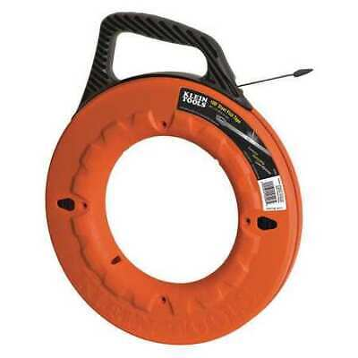 KLEIN TOOLS 56006 Marked Fish Tape,1/4 In x 100 ft,Steel