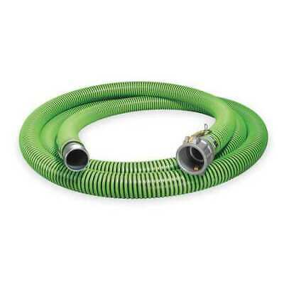 "CONTINENTAL CONTITECH 1ZMZ5 1-1/2"" ID x 25 ft Discharge & Suction Hose BK/GN"