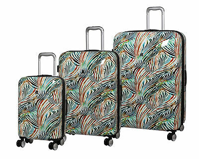 IT Luggage Sheen 8 Wheel Expandable 3 Piece Set