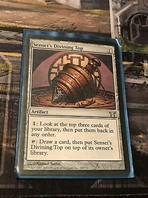 4 PLAYED Sensei Golden-Tail White Champions of Kamigawa Mtg Magic Rare 4x x4