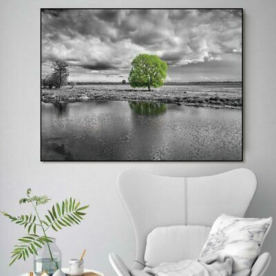 Canvas painting Wall art print Pictures landscape flower tree posters home decor