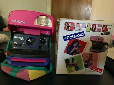 *Rare*  Spice Girls Cam Polaroid - Instant Portable Camera with Case